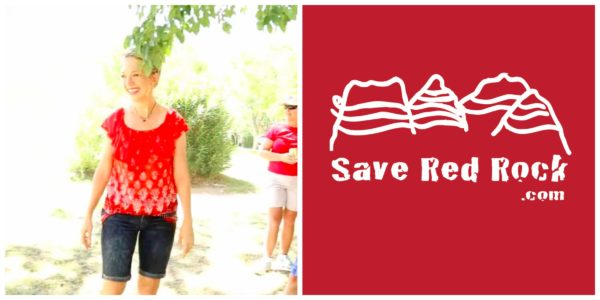 Heather Fisher and Save Red Rock